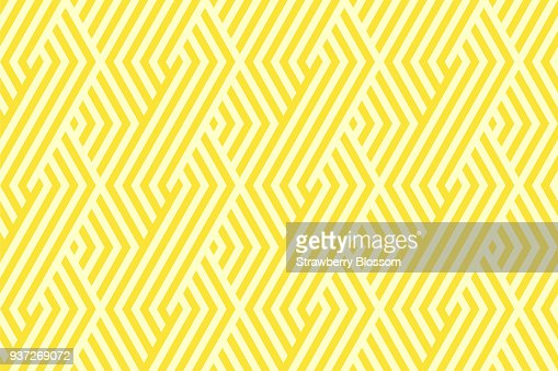 Pattern stripe seamless yellow two tone colors. Chevron stripe abstract background vector. : Vector Art