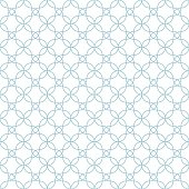 Pattern moroccan.Bline blue color.