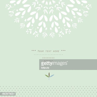 Pattern with vegetative elements in vector : stock vector