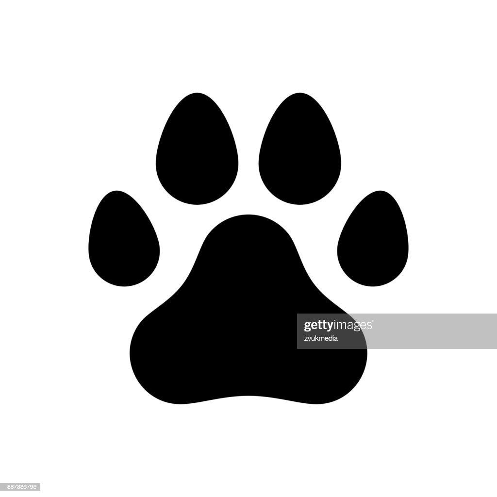 paw print stock photos and illustrations royalty free images rh thinkstockphotos com dog paw print vector image dog paw print vector png