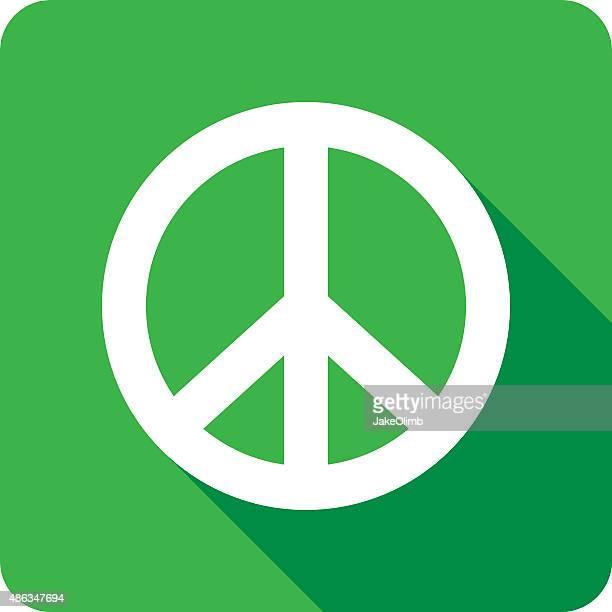 Icône de Silhouette de la paix