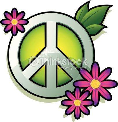 Peace Sign Vector Art Thinkstock