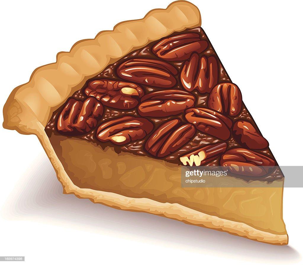 Pecan Pie Clip Art Pecan Pie Vector Art |...