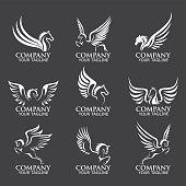 Pegasus vector logos