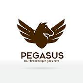 Pegasus, Horse with Wings Symbol