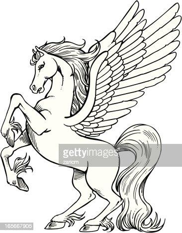 Pegasus Vector Art Getty Images