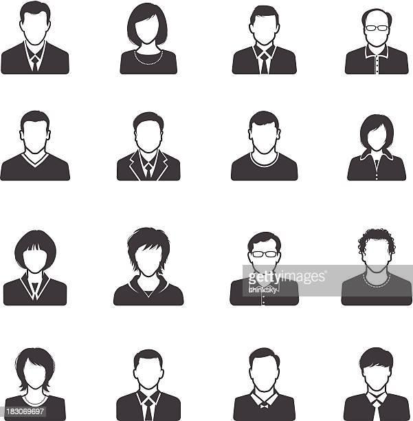 Menschen-icon-set