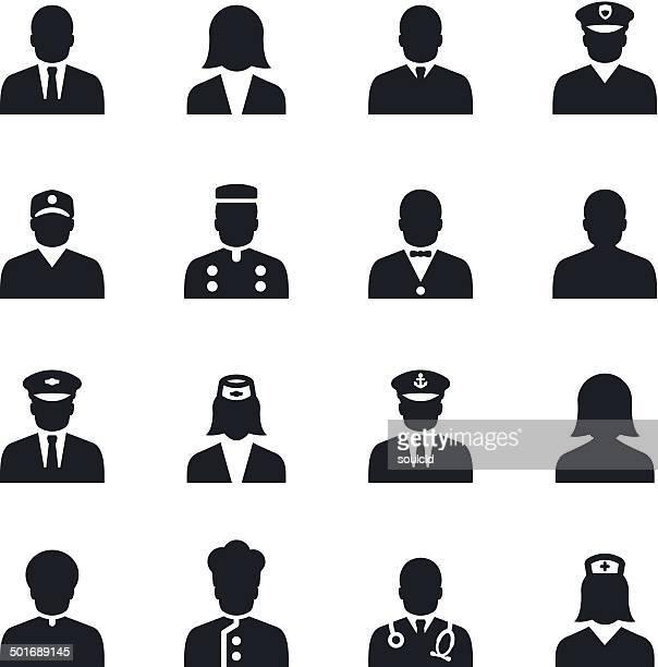 Icônes de personnages