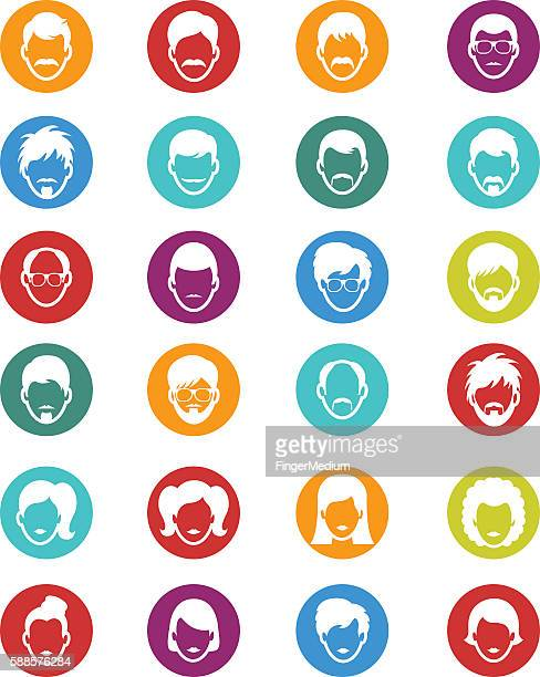 Menschen Symbole
