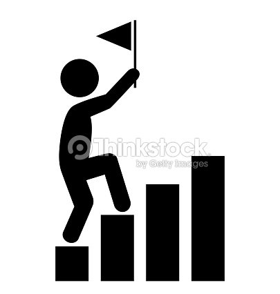 People man with flag on diagram icons pictogram on white vector art people man with flag on diagram icons pictogram on white vector art ccuart Image collections