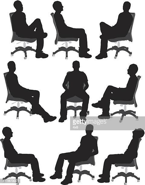 People sitting on chair