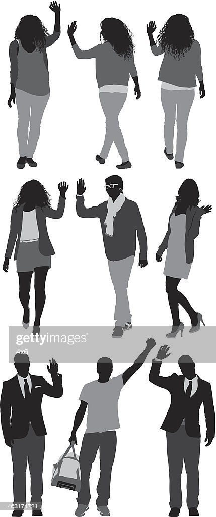 People Walking Vector Art | Getty Images