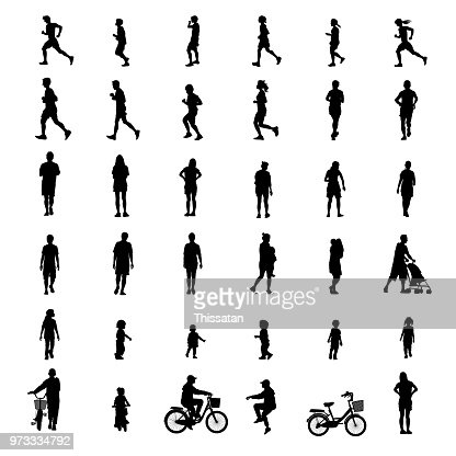 peoples exercise isolated on white background as healthy concept. vector illustration. : Vector Art