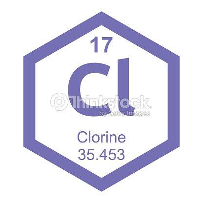 Periodic table chlorine vector art thinkstock periodic table chlorine vector art urtaz Images