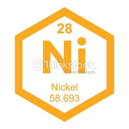 Periodic Table Nickel Element Vector Art | Thinkstock