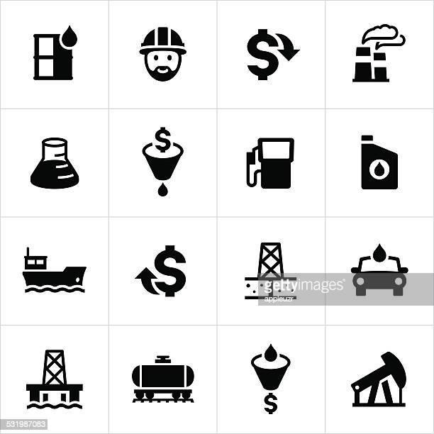 Petroleum Production Icons