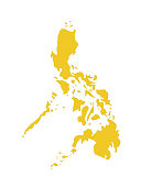 vector illustration of Philippines map