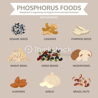 Low Medium And High Phosphorus Foods