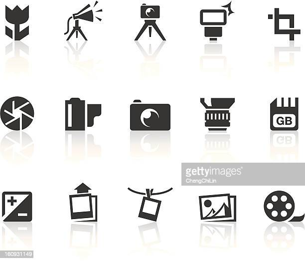 Photography Icons | Simple Black Series