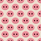 Pigs noses seamless.