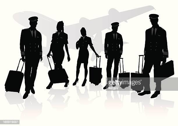 Pilot & stewardess
