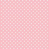 vector background with polka dots
