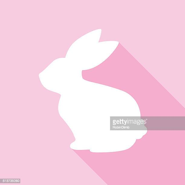 Pink Bunny Icon
