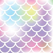 Mermaid scales. Abstract pink color background. Vector illustration