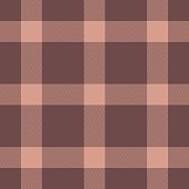 Pink tartan check plaid herringbone pixel pattern vector for poncho, scarf, coat, jacket, blanket, or other textile design.