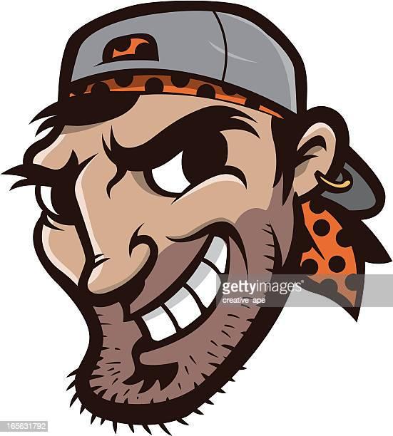 Pirate Baseball Team Mascot