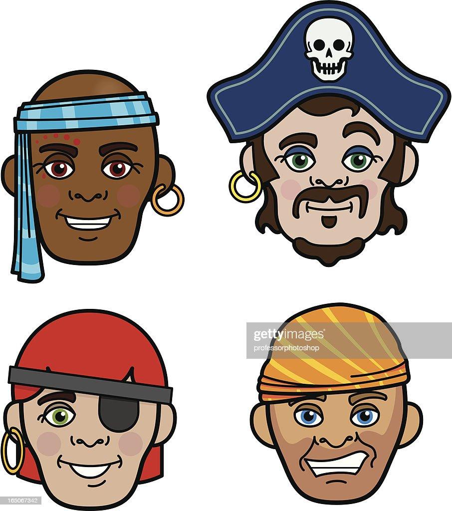 Uncategorized Pirate Faces pirate faces vector art getty images art