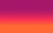 Pixel art dithering background in three colors.