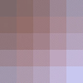 Pixel plaid herringbone pattern vector. Seamless tartan check plaid in brown pink to light purple for blanket, poncho, scarf, jacket, or other textile design.