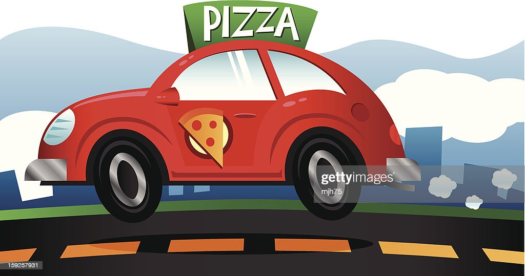 Pizza Delivery 2 : Vector Art