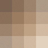 Plaid pattern vector. Pixel texture. Brown & beige tartan check plaid for scarf, poncho, blanket, coat, jacket, or other textile design.