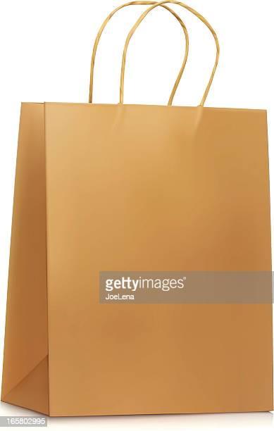 Plain Paper Shopping Bag