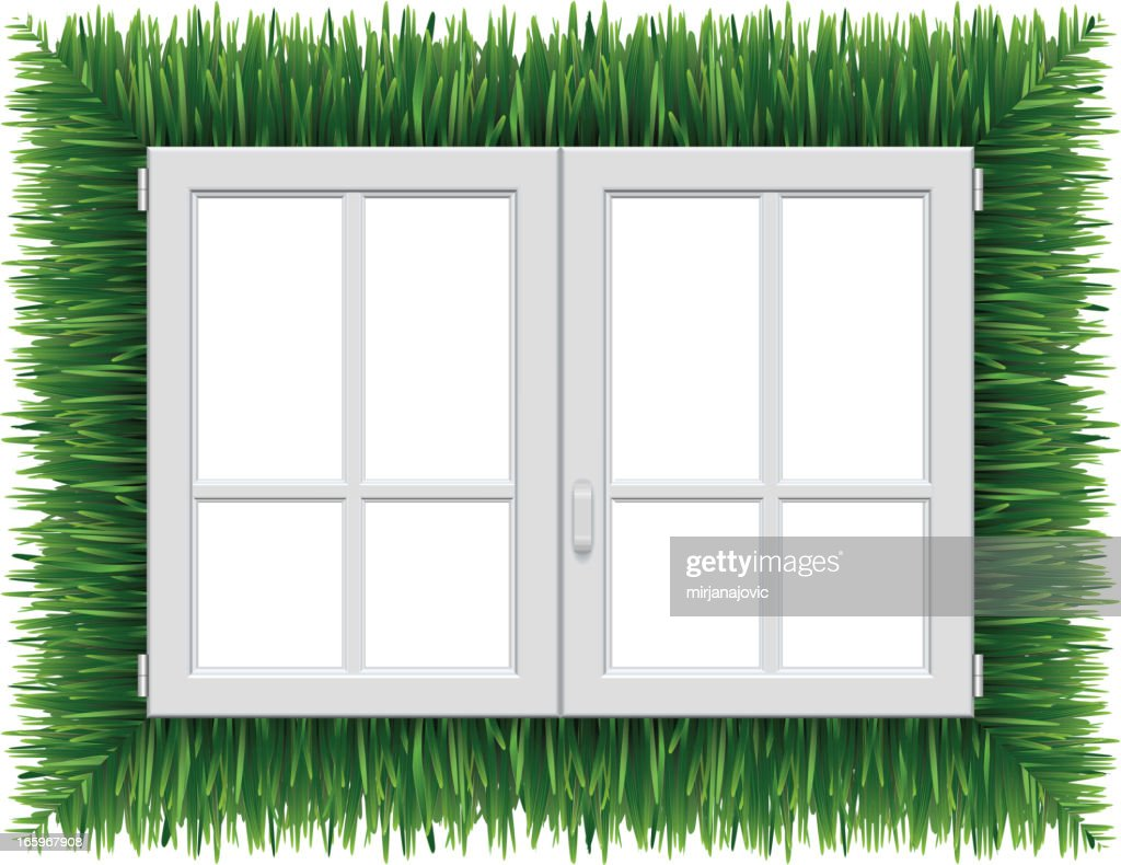 Plastic window vector art getty images for Window plastic
