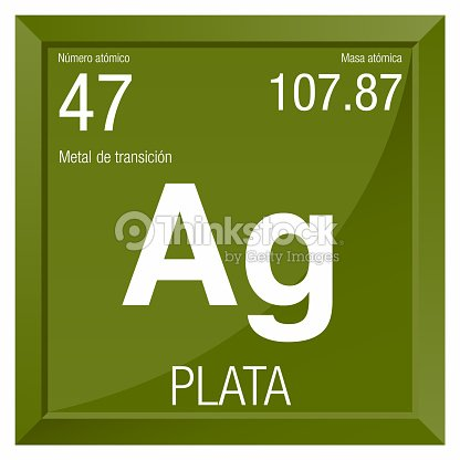 Plata symbol silver in spanish language element number 47 of the plata symbol silver in spanish language element number 47 of the periodic table of the elements chemistry urtaz