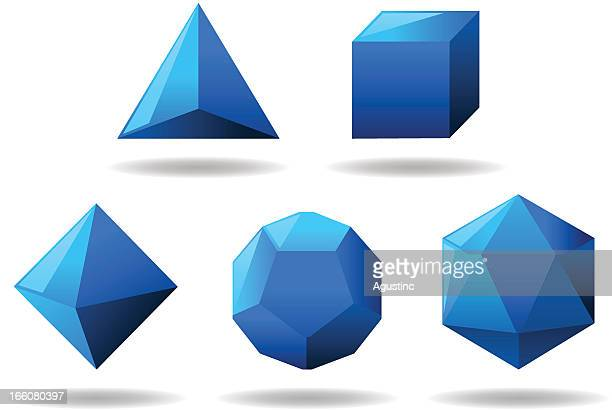 Platonic Solids Set