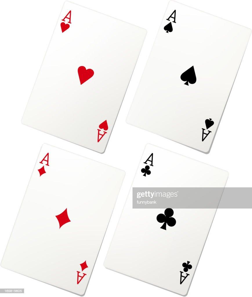 playing card set : Vector Art