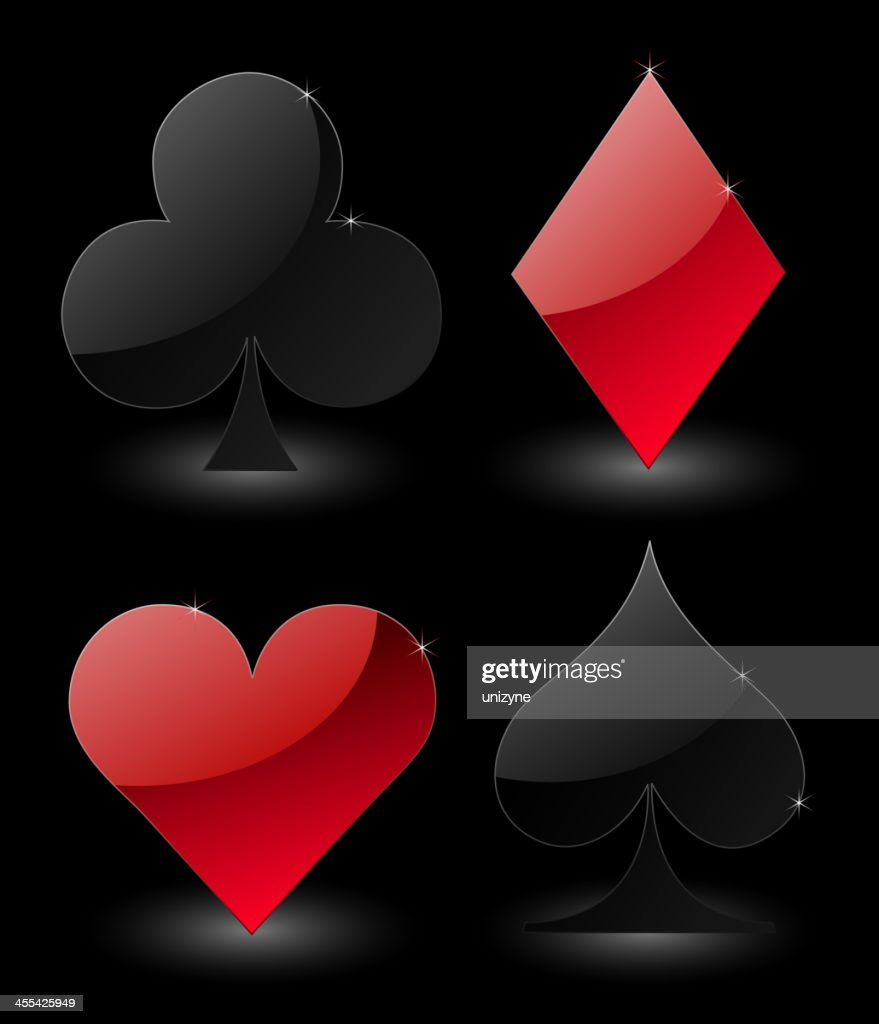 Playing Card Suite : Vector Art