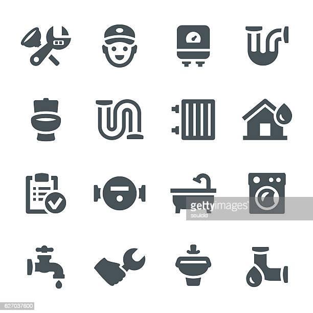 Plumbing Icons