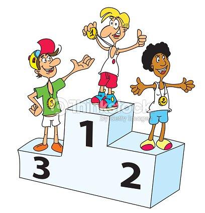Podium clipart vectoriel thinkstock - Dessin podium ...