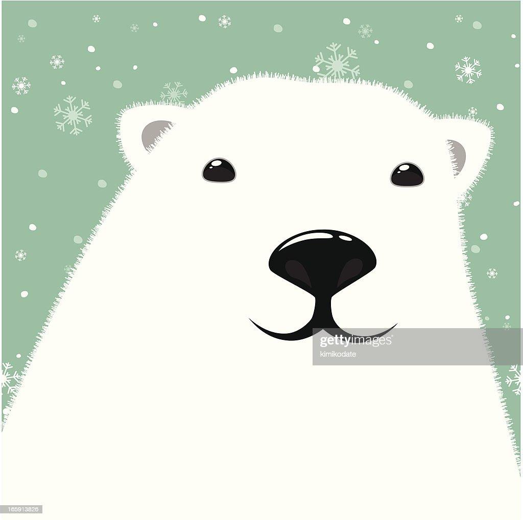 Polar Bear Head Vector Art | Getty Images