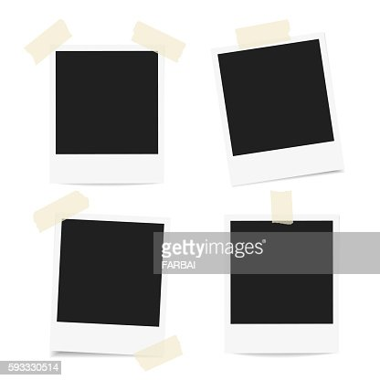 Polaroid Photo frames : Arte vectorial