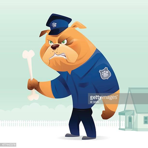 police bulldog