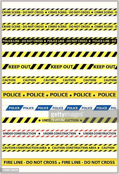 Línea de policía