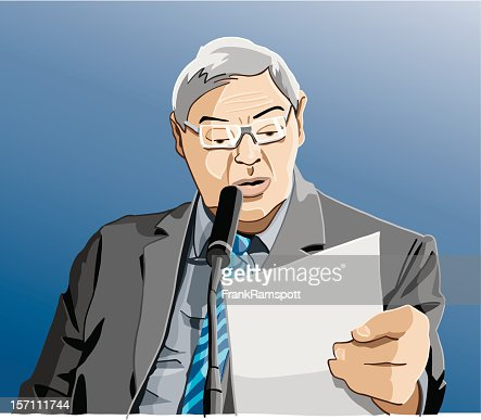 Politician : Vector Art