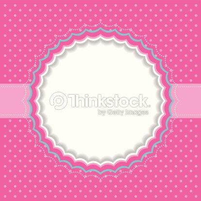 Polka Dot Frame Vector Art | Thinkstock