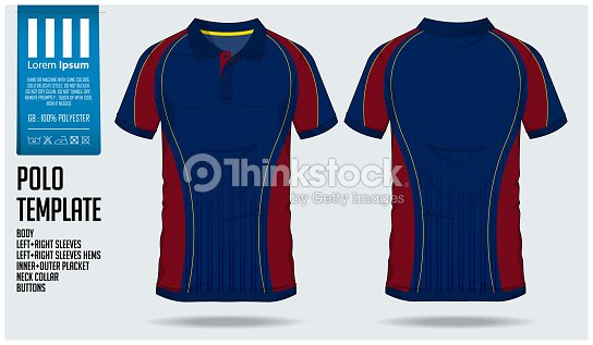 Polo T Shirt Sport Design Template For Soccer Jersey Football Kit Or ... b67b6117f